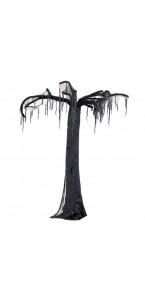 Arbre hanté noir Halloween 260 x 110 x 110 cm