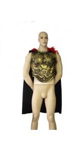 Armure de soldat romain avec cape