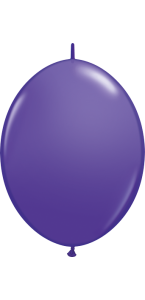 Lot de 50 ballons double attache en latex violet