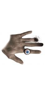 Bague œil bleu