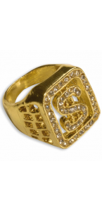 Bague diamants dollar