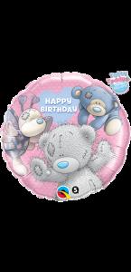 Balllon anniversaire ourson bleu