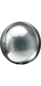 Ballon Argent ORBZ 38 x 40 cm