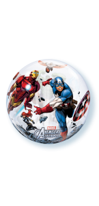 Ballon Bubble Avengers transparent