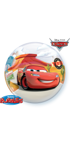 Ballon Bubble Cars 55 cm