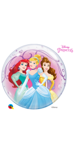 Ballon Bubble Princesses 55 cm