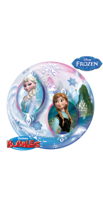 Ballon Bubble Reine des Neiges