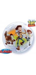 Ballon Bubble Toy Story transparent