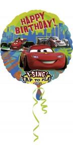Ballon Cars 2 Happy Birthday chantant