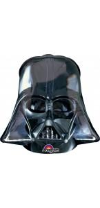 Ballon Casque Dark Vador noir 63 x 63 cm