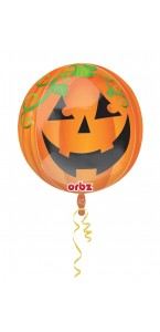 Ballon citrouille Happy Halloween ORBZ