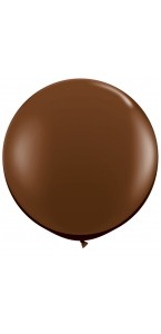 Ballon de baudruche géant en latex  opaque chocolat