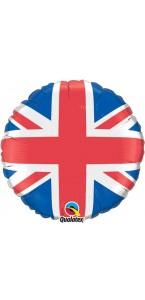 Ballon drapeau anglais en aluminium