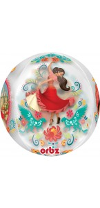 Ballon Elena d'Avalor Clear Orbz 38 x 40 cm