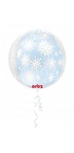 Ballon Flocon de neige ORBZ 38 x 40 cm