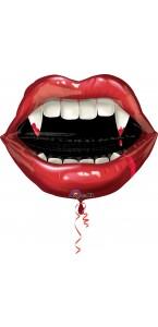 Ballon forme de bouche de Vampire