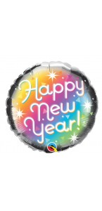 Ballon Happy New year 45 cm