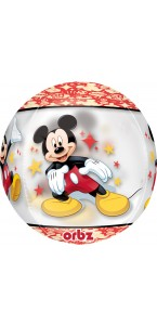 Ballon Mickey Clear Orbz 38 x 40 cm