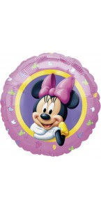 Ballon Minnie rose