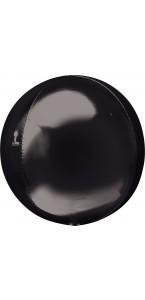 Ballon Noir ORBZ 38 x 40 cm
