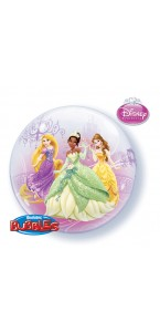 Ballon Princesses Disney Bubble transparent