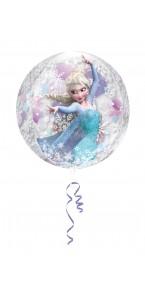 Ballon Reine des neiges Pastel ORBZ  38 x 40 cm