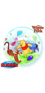 Ballon Winnie et ses amis transparent