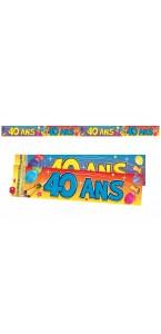 Bannière Anniversaire 40 ans
