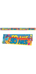 Bannière Anniversaire 50 ans