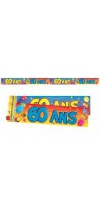 Bannière Anniversaire 60 ans