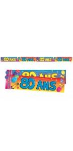 Bannière Anniversaire 80 ans