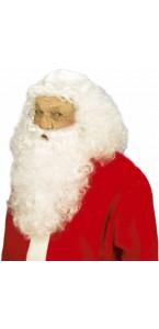 Barbe + perruque de père Noël