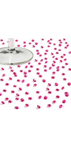 Boîte de 1800 mini-diamants fuschia 4,5 mm