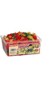 Boîte de bonbons Tinours Haribo