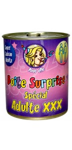 Boîte surprise adulte X femme