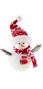 Bonhomme de neige 20 cm