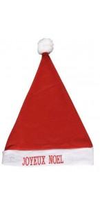 Bonnet de père noël Joyeux Noël