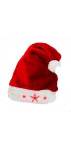 Bonnet père Noël luxe +lumière