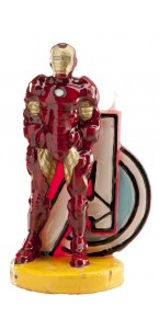 Bougie Iron man 9,5 cm
