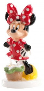Bougie Minnie 9 cm
