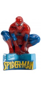 Bougie Spiderman 8 cm