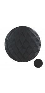 Boule alvéolée ballon gris 20 cm