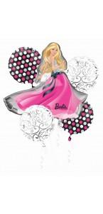 Bouquet de ballons Barbie Glamour anniversaire