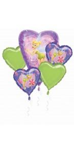 Bouquet de ballons Fée clochette anniversaire