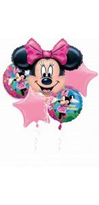 Bouquet de ballons Minnie anniversaire