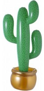 Cactus gonflable dans pot 90 cm