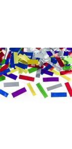Canon à confettis avec confettis multicolores  métal