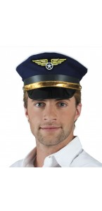 Casquette Flight Captain roger