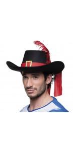 Chapeau de mousquetaire Sébastien