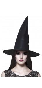 Chapeau de sorcière halloween noir taille adulte premier prix